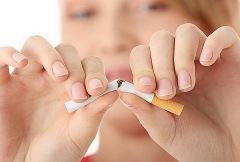 Курение – причина морщин - фото