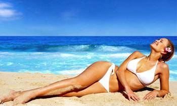 Солнечные ванны способствуют похудению - фото